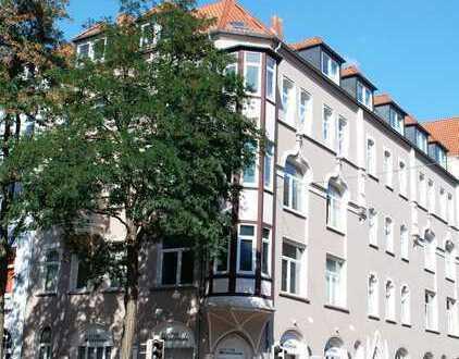 List- zentrale gelgene helle 3 Zimmer Wohnung nähe Lister Platz