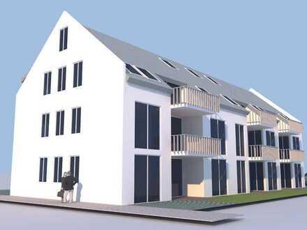 Wohnen in Leutershausen | 3-Zimmer Neubauwohnung im 1. OG
