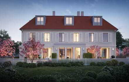 Direkt an Stadtpark und Würm, traumhaftes Eckhaus mit Südgarten in der Villenkolonie Pasing