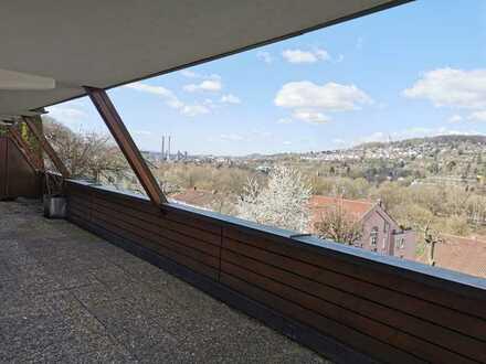 Lichtdurchflutete 2-Zimmerwohnung mit großer Terrasse und EBK in Pforzheim-Mäuerach