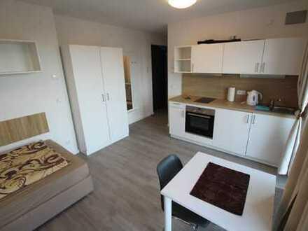 Exklusive 1 Zimmer 29qm Penthauswohnung vollmöbliert mit TG Stellplatz in exklusiver Wohnanlage