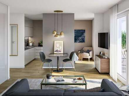 Modern und durchdacht: 1-Zimmer-Wohnung mit Balkon nahe Innenstadt