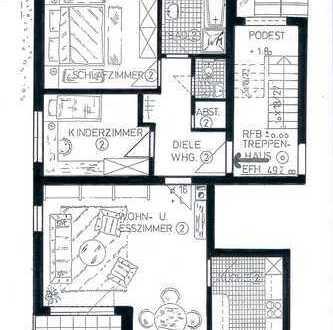 Schöne 3-Zimmer Wohnung im Hohenlohekreis, Waldenburg