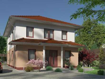 Bauen mit Elbe-Haus® großzügige Stadtvilla auf einem der letzten Grundstücke in Mechernich