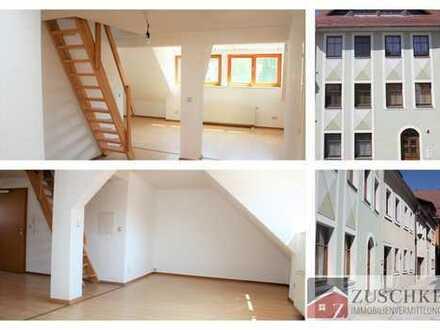 Großzügige 2 Raum-Dachgeschosswohnung mitten in der Altstadt von Bautzen