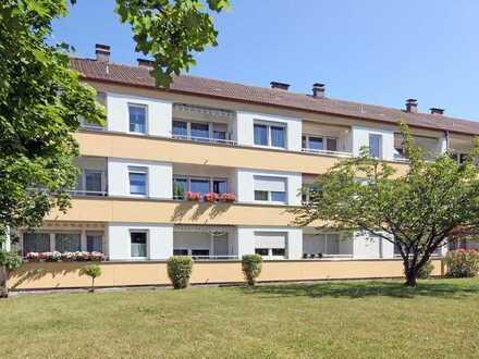 Großzügige 1-Zimmer-Wohnung mit sonnigem Balkon & neuem Bad, in ruhiger Lage!