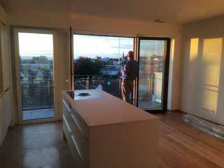 Penthouse im Darmstädter Woogsviertel mit herrlichem Blick