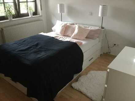3-Zimmer, Küche, Bad im Grünen (mit Möglichkeit zur Pferdeunterstellung) in 67829 Schmittweiler