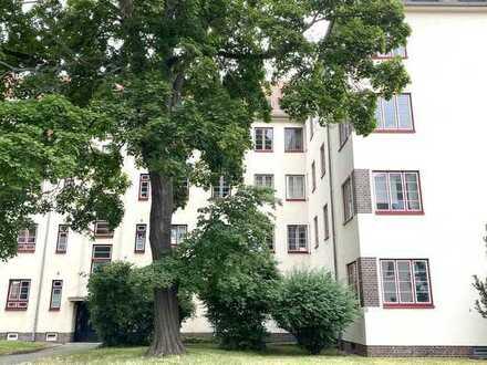 PROVISIONSFREI Eigentumswohnung Marienbrunn 51qm Denkmalschutz 2-Raum-Wohnung Tageslichtbadezimmer