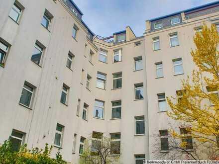 Kapitalanlage: Unbefristet vermietete 3-Zimmer-Altbauwohnung in Berlin-Wedding