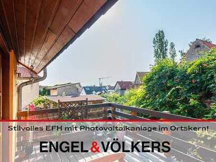 Stilvolles EFH mit Photovoltaikanlage im Ortskern!