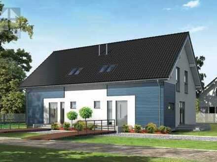 """""""ENERGIEFREIHEIT""""/ NEUBAU- Doppelhaushälfte - Innovationshaus - KfW 40+ - mit Grundstück"""