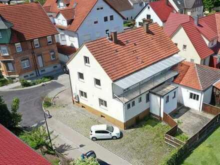 Keine Käuferprovision! Wohnhaus mit ehemaliger Gastronomie – ideal für Umbau – zentrale ruhige Lage
