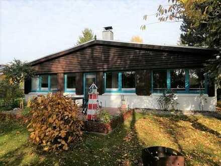 + Maklerhaus Stegemann + großzügiger Bungalow mit FeWo fußläufig vom Saaler Bodden entfernt