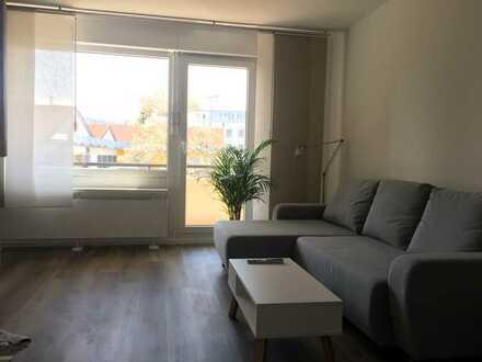 Stilvolle, modernisierte 1-Zimmer-Wohnung mit Balkon und Einbauküche in Stuttgart - Münster