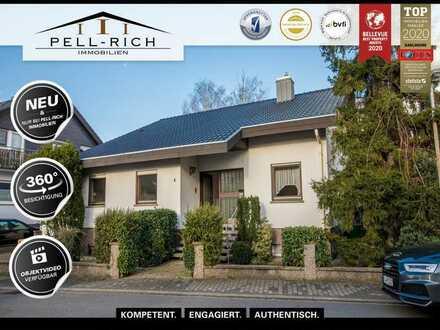 LEBENSLUST: freihstendes Einfamilienhaus mit Garten und Garage in Eggenstein