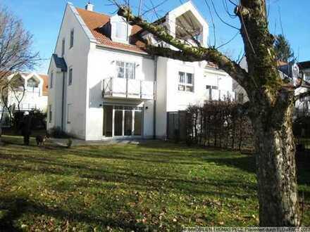 Ruhige 2-Zi.-Wohnung mit Garten, Hobbyraum und TG
