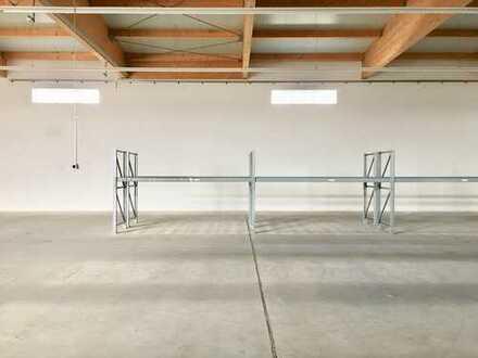 Lagerhalle ab 1.11.2019, 396 m² zentrumsnah in Mering zu vermieten, ab 100m², Höhe 6,00 m