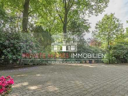 Großzügiges Grundstück am Naturpark mit charmantem Landhaus im Französischen Stil