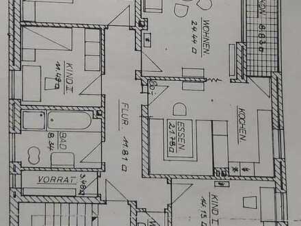 Ansprechende 4-Zimmer-Wohnung mit Balkon in Aindling