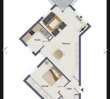 Helle, geräumige 2-Zimmer-Wohnung mit Balkon und EBK, Köln