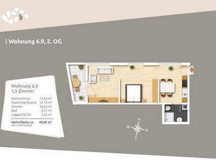 Ideal für Kapitalanleger - 1,5 Zi.-Appartement im 2. Obergeschoss