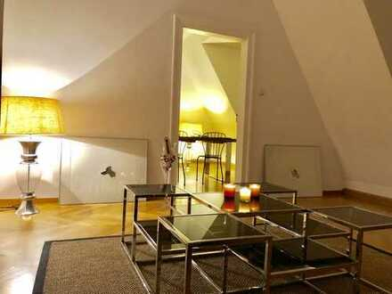 Großzügige 5-Zimmer-Wohnung mit gehobener Innenausstattung in Altstadt Lehel, München