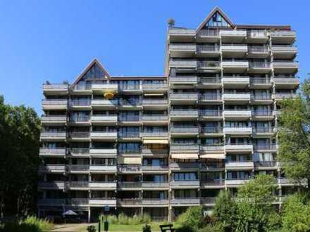 Apartment - großer Balkon - barrierefrei - Einbauküche