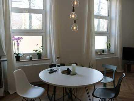 Liebevoll sanierte Altbauwohnung am Elsassplatz /Kennedypark