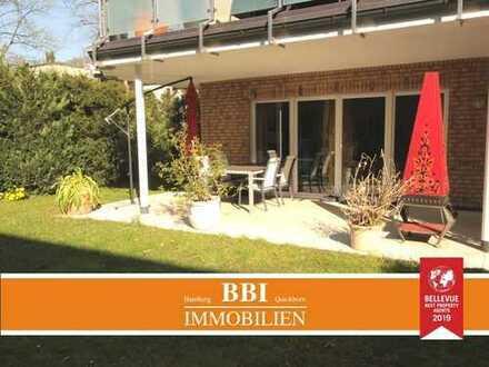 Schöne 3-Zimmerwohnung in Wohldorf-Ohlstedt mit großer Terrasse und Gartenanteil