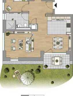 Perfektes Eigenheim: Garten. Terrasse. Energetisch 1 A. Für heute und die Zukunft.