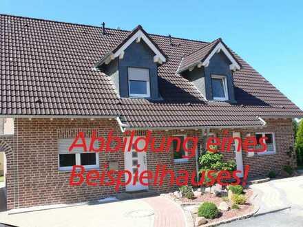 Neubau-Doppelhaushälfte mit großer Garage!