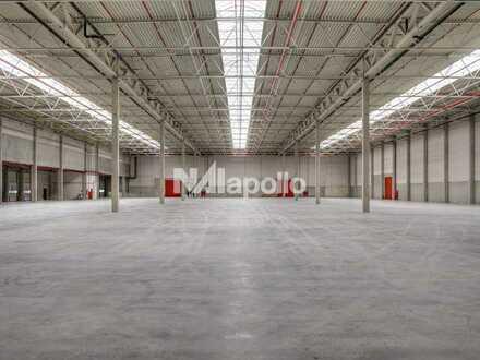 PROVISIONSFREI   Autobahnnähe   moderne Logistikprojektierung   teilbar ab 8.000 m²   20 Rampentore