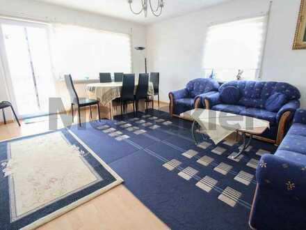 Mit Balkon und sehr gepflegt: Gut geschnittene 4-Zimmer-Wohnung in Buchen-Hettingen