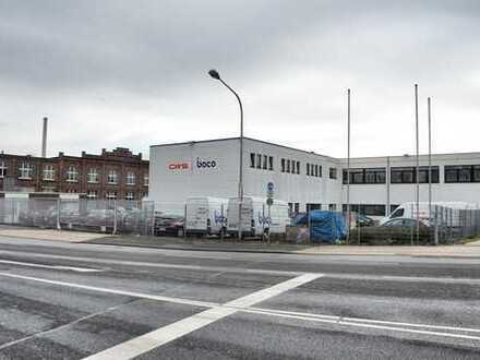 Lager-/Produktionshalle mit angrenzender Bürofläche in Krefeld-Uerdingen
