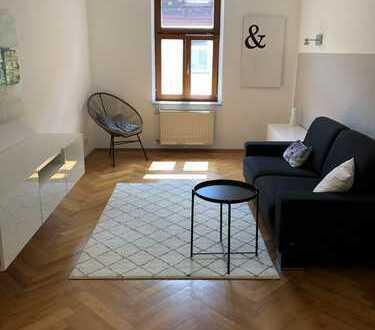 Hochwertig möblierte 3-Zimmer-AB-Wohnung in Toplage in Au/Haidhausen