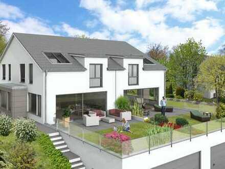 Sonnige Baulücke in bester Lage von Markgröningen mit genehmigten Baugesuch für 2 Doppelhaushälften