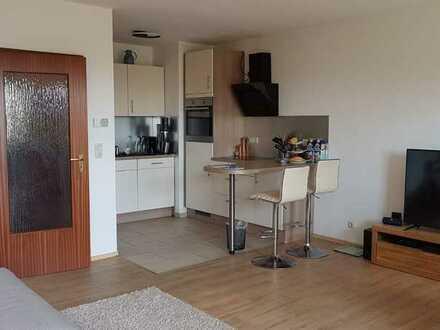 Schöne 2 Zimmerwohnung mit EBK und Balkon mit Blick ins Grüne