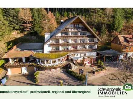 3-Sterne Wander- und Wellnesshotel mit Restaurant in herrlicher Aussichtslage im Schwarzwald!!