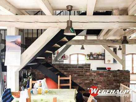 🔥Exklusive LOFT - Maisonette - Wohnung mit Weitblick u. Whirlpool im idyllisch gelegenem Wohnpark