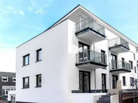 NEUBAU: Schicke 2-3-Zi-Gartenwohnung in kleinem Mehrfamilienhaus