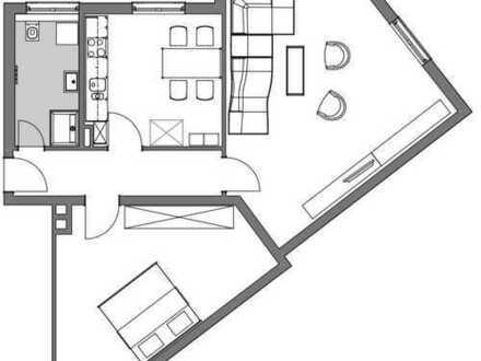 Schöne 2-ZKB Wohnung, Innenstadtlage, neu saniert