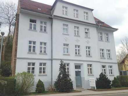 Helle sanierte 2-Zimmerwohnung mit tollem Ausblick und Wannenbad in Eberswalde