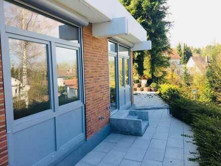 Terrassenwohnung mit Garage in KA-Grötzingen
