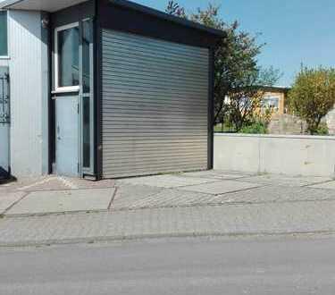 Halle und Freifläche ideal für Busse und LKW incl. Bürocontainer