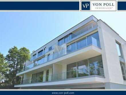 VON POLL IMMOBILIEN Neubau-Erstbezug Exklusives Wohnen mit unverbaubarem Wasserblick