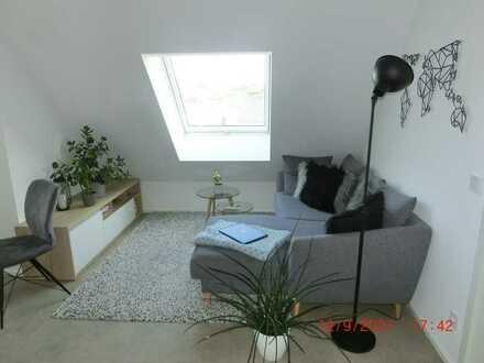 Freundliche, neuwertige 2-Zimmer-Penthouse-Wohnung mit gehobener Innenausstattung in Wemding