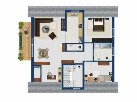 Neuwertige 3-Zimmer-Wohnung mit Balkon und EBK in Maxdorf