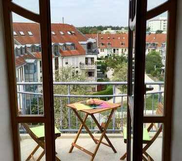 **Provisionsfrei** Exklusive 3-Zimmer-Maisonette-Wohnung mit Balkon in Fürstenfeldbruck-Buchenau