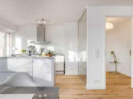 PROVISIONSFREI - Stilvoll modernisierte Wohnung in ruhiger und sonniger Lage